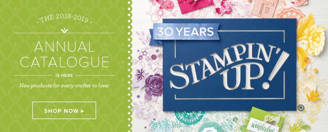 Stampin' Up! 2018 Annual Catalogue