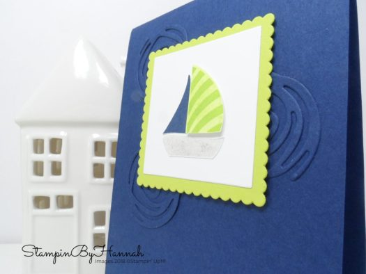 Kids card using Swirly Bird from Stampin' Up!