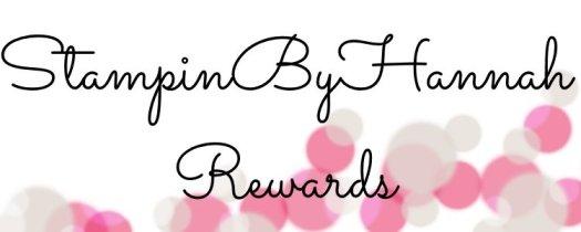 Stampin' Up! StampinByHannah Customer Rewards