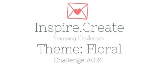Inspire.Create.Challenges Stampin' Up! Theme Challenge