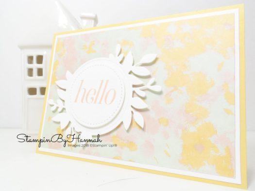 3 fun card ideas using Stampin' Up! Designer Series Paper Video Tutorial Facebook Live