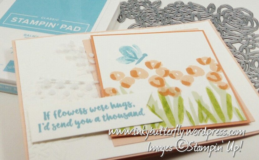 Abstract Impressions Team card from Verity Purglove using Stampin' Up! products