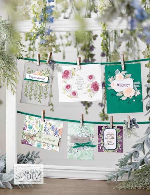 Stampin' Up! Autumn Winter Catalogue Shares