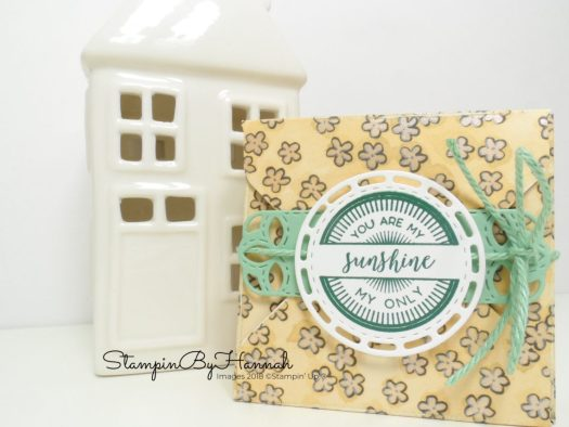 Cute Envelope Punch Board Gift Box using Share What You Love Designer Series Paper from Stampin' Up!
