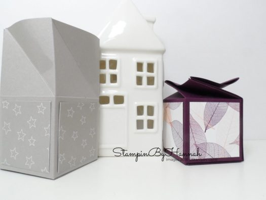 Twist Top Box Tutorial using Twinkle Twinkle Designer Series Paper from Stampin' Up!