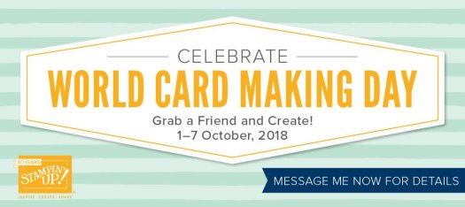 Stampin' Up! World Card Making Day Sale 2018