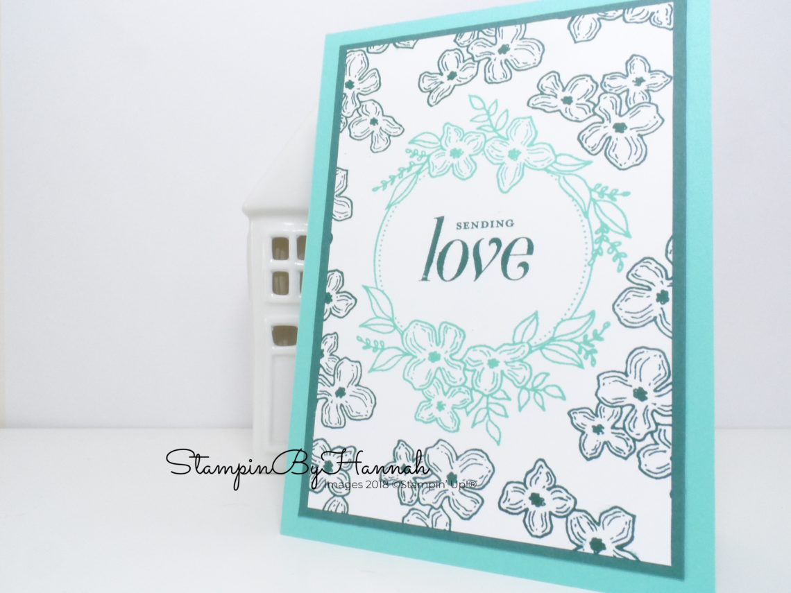 Sending Love with Floral Frames from Stampin' Up!