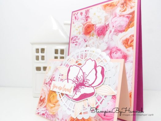 How to make a Double Tent Fold Card using Stampin' Up! Products with StampinByHannah