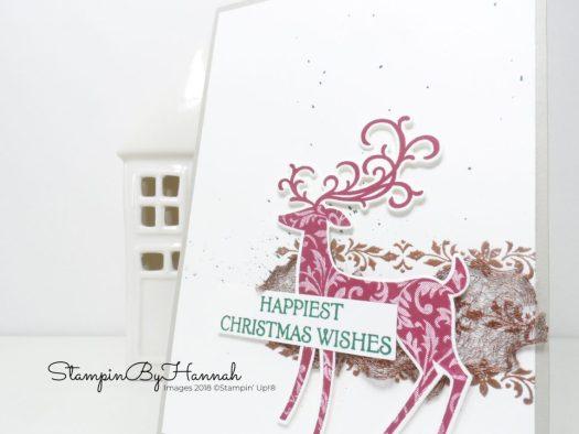 Inspire.Create.Challenge Dashing Deer Colour Challenge Card