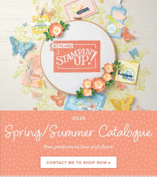 Stampin' Up! Spring Summer Catalogue 2019