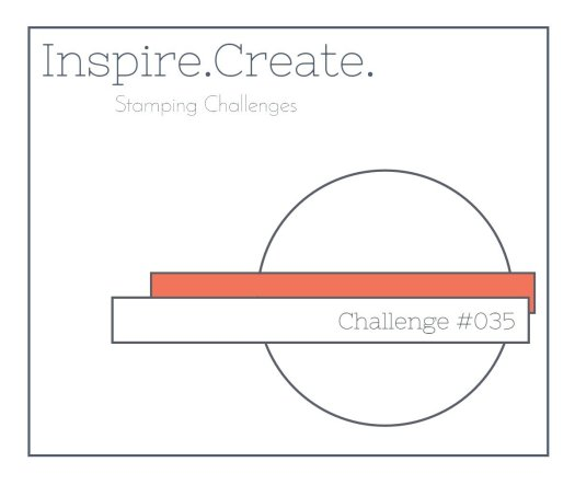 Inspire.Create.Challenges Stampin' Up! Challenge blog Cardmaking Sketch Challenge