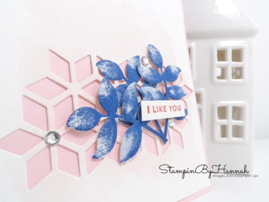 Pretty watercolour wash I like you card using Oh So Eclectic from Stampin' Up! with StampinByHannah for Just Add Ink