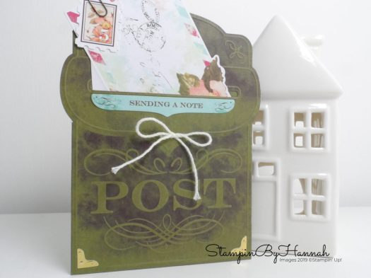 Stampin' Up! Precious Parcel Card Kit Sale-a-bration freebie