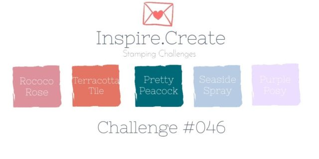 Inspire.Create.Challenge Colour Combination Stampin' Up! In Colours