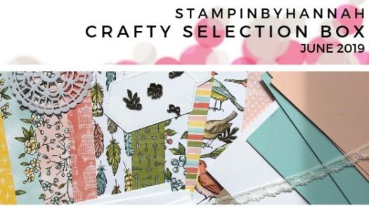 Check out the StampinByHannah Crafty Selection Box for June using Bird Ballard from Stampin' Up!