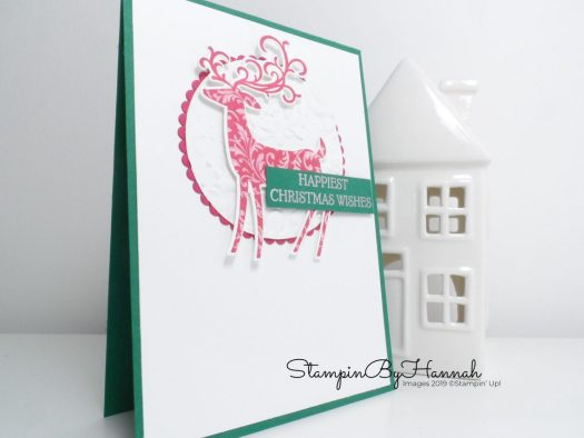 Christmas in July with Dashing Deer from Stampin' Up! with StampinByHannah