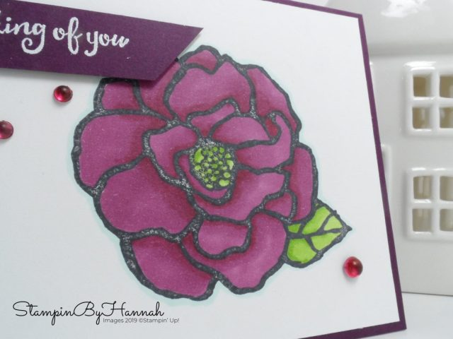 Beautiful Day coloured with Stampin' Blends from Stampin' Up! with StampinByHannah