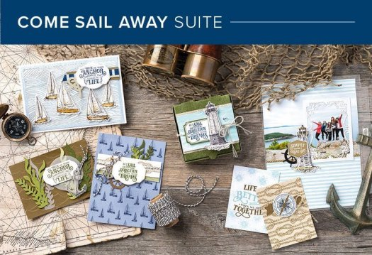 Come Sail Away suite from Stampin' Up! with StampinByHannah