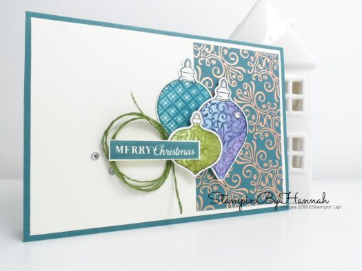 Merry Christmas with Brightly Gleaming from Stampin' Up! with StampinByHannah
