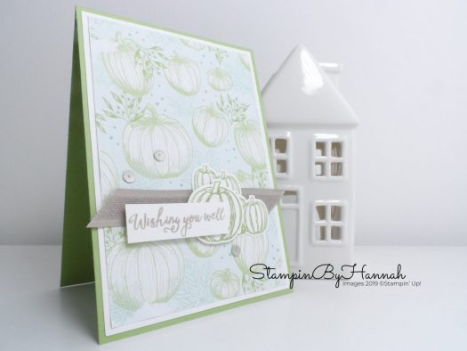 Gather Together Wishing you well card for Inspire.Create.Challenge