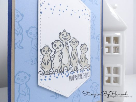 Man's birthday card using The Gangs All Meer from Stampin' Up! for Inspire.Create.Challenge with StampinByHannah