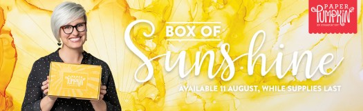 Stampin' Up! Paper Pumpkin UK Box of Sunshine