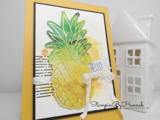 Box of Sunshine Paper Pumpkin alternative card ideas with StampinByHannah using Stampin' Up! products