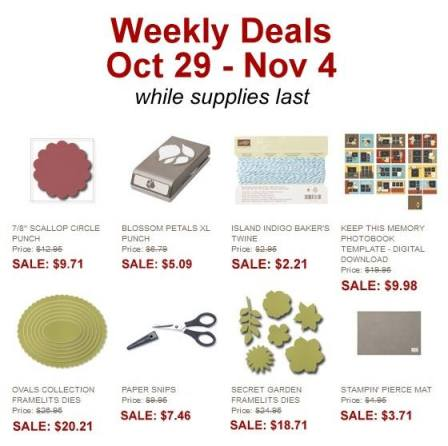 Weekly Deal Stampin' Up!