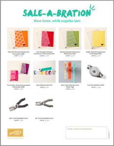 New SAB Products March 17, 2015