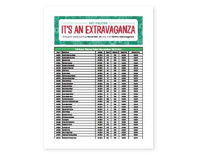 Extravaganza 2017