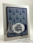 simple masculine sailboat card