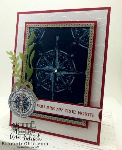 sailing home masculine card