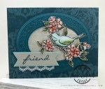 vintage friendship card