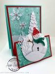 Snowman Easel Card
