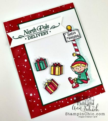 whimsical holiday card