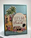 Let's Go to the Beach card
