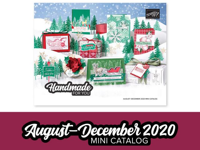 August - December 2020 Mini Catalog