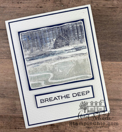 clean and simple masculine card