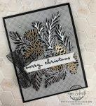 Christmas Pinecone card