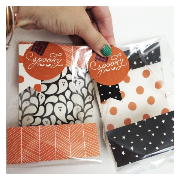 Happy Haunting Halloween Treat Bags at StampinFool.com