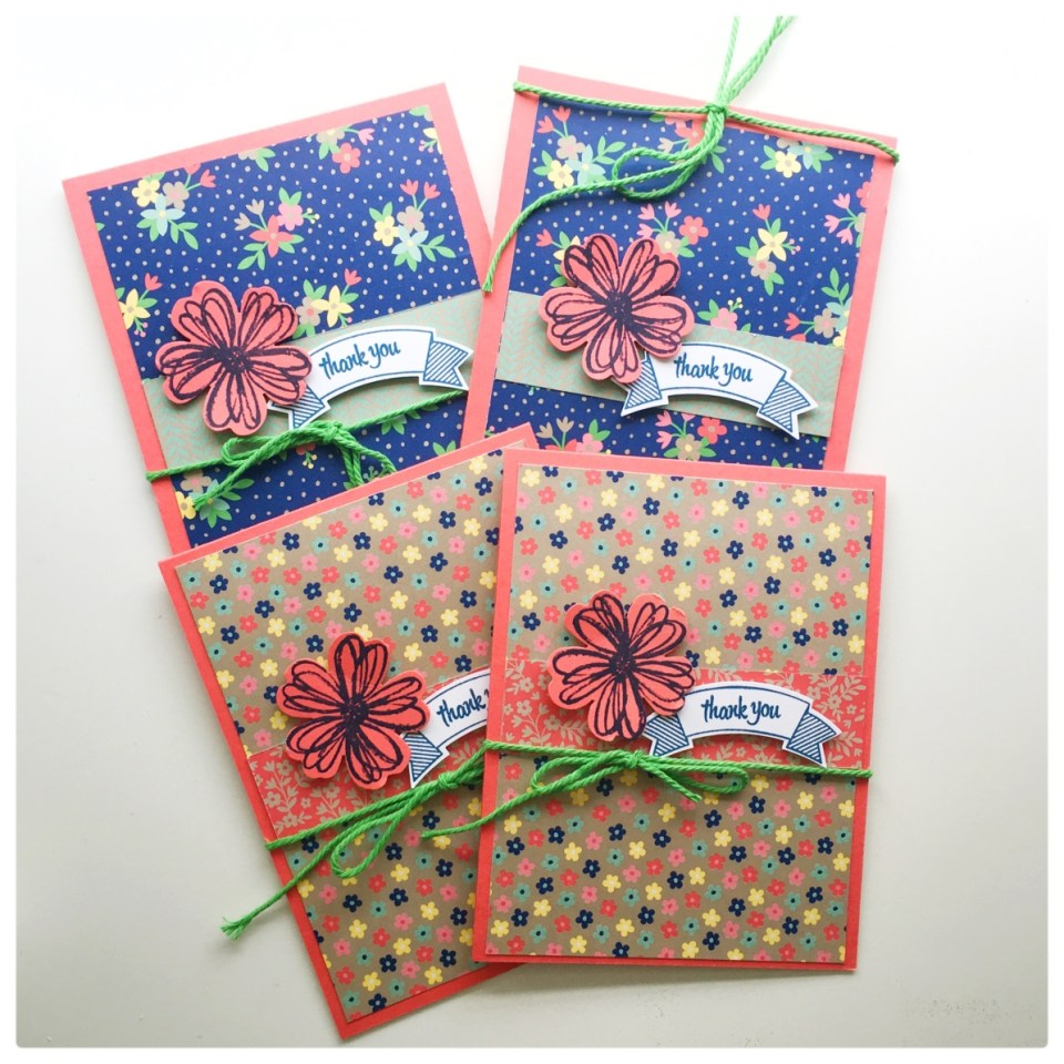 Affectionately Yours Card Set from StampinFool.com