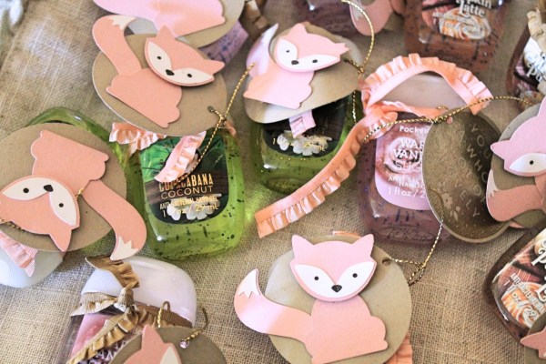 Woodland Baby Shower + Free Favor Tutorial from StampinFool.com