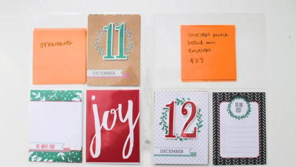 See how to put together a Project Life 2016 Hello December album from StampinFool.com