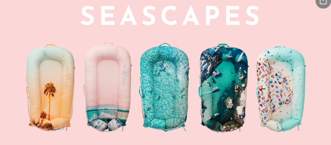 New Seascapes Dockatot prints are now Live