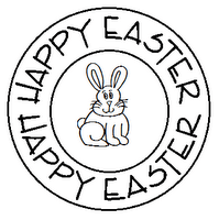 Freebie Easter Digi Stamps Stamping