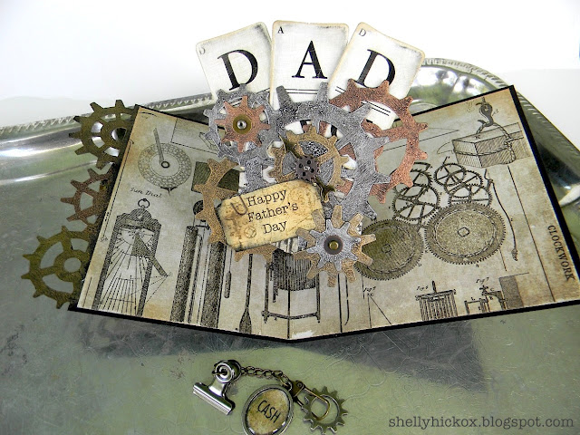 Project Pop Up Card For Dad Stamping