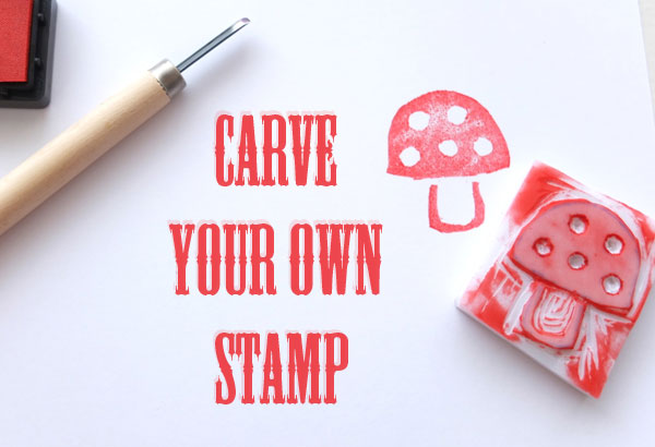 Tutorial carve a stamp stamping