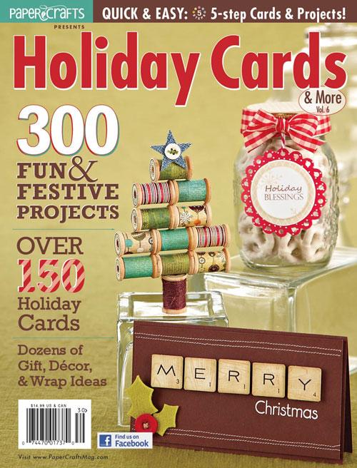 freebie digital holiday card magazine  stamping