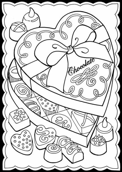 Freebie: Valentine Candy Digital Image