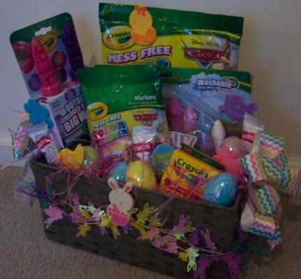 giveaway: crayola ulimate easter basket